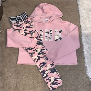 Victoria Secret Pink Legging Set